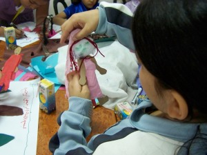 Making a Puppet