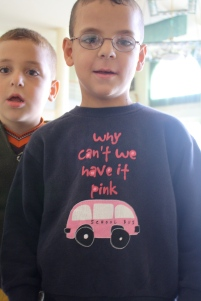 Pink Bus