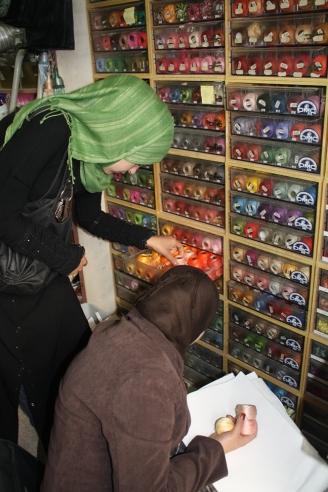 Heba & Hana shopping