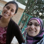 My beyond-amazing translator, Haya!